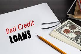 A bad credit loan